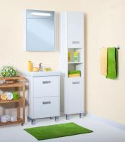 Шкафы пеналы напольные для ванной комнаты