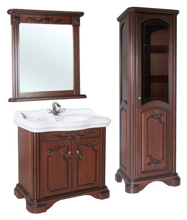 Зеркало Bellezza Виктория 100 вишня
