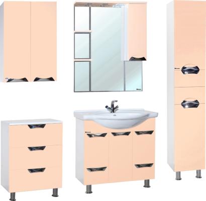 Зеркало-шкаф Bellezza Белла Люкс 85 R бежевый