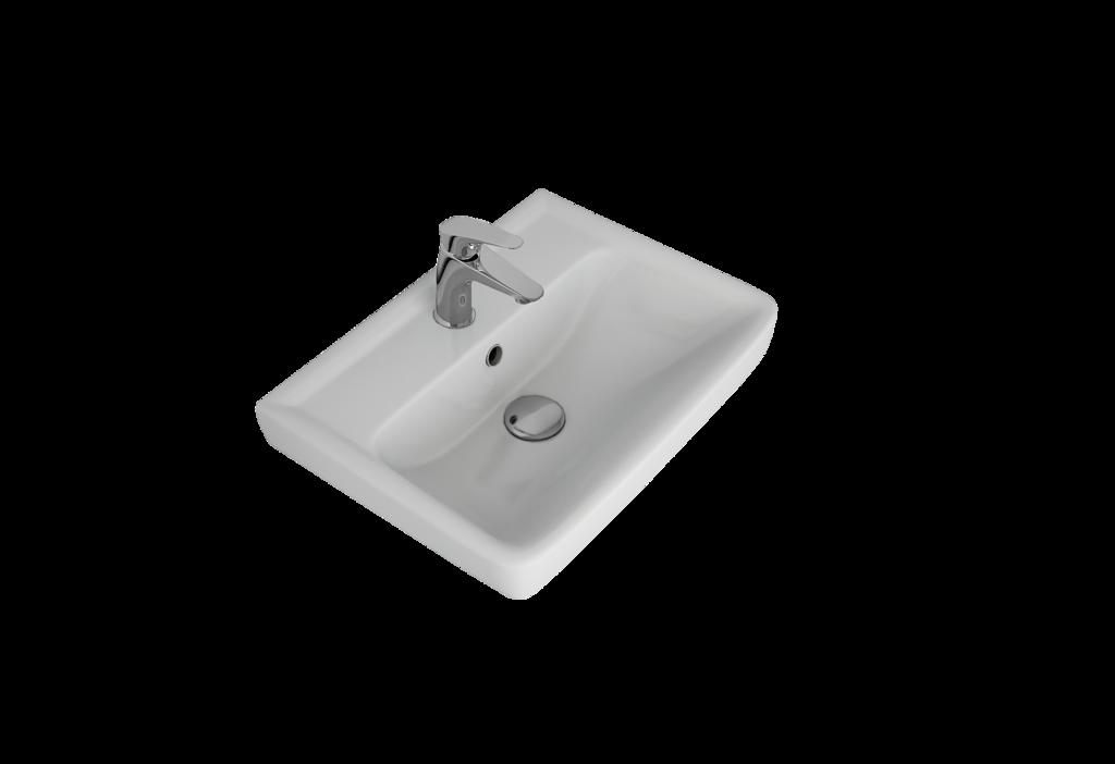 Мебельная раковина Dreja Мини 50 белая