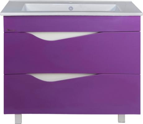 Тумба под раковину Эйфория 105 фиолетовая